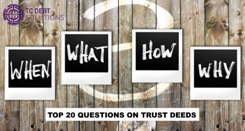 Frequently asked questions on Scottish trust deedss